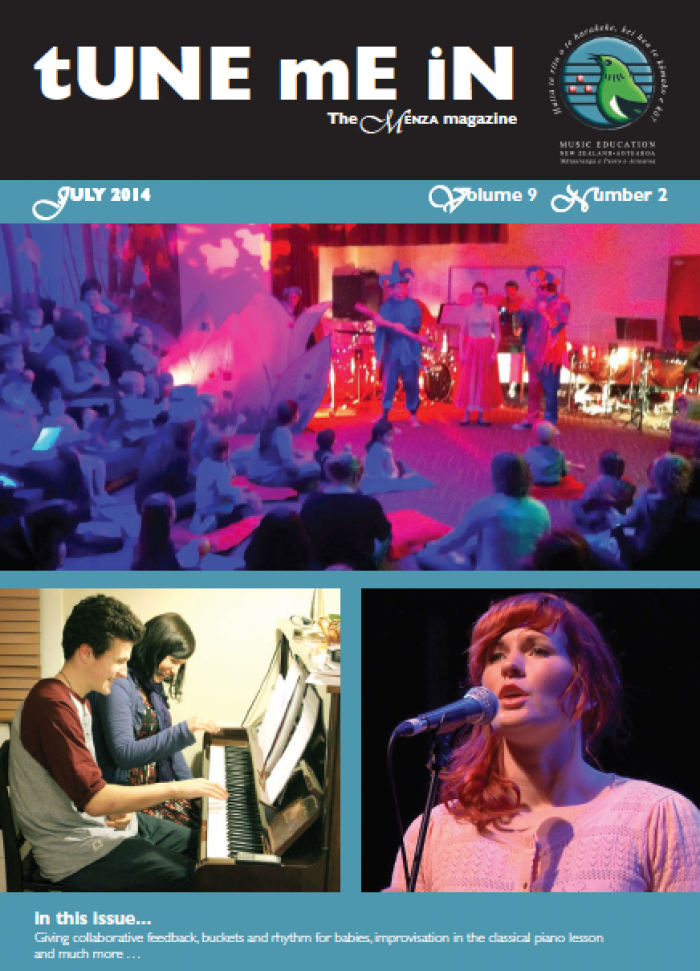 TUNE ME IN Volume 9 Number 2, July 2014