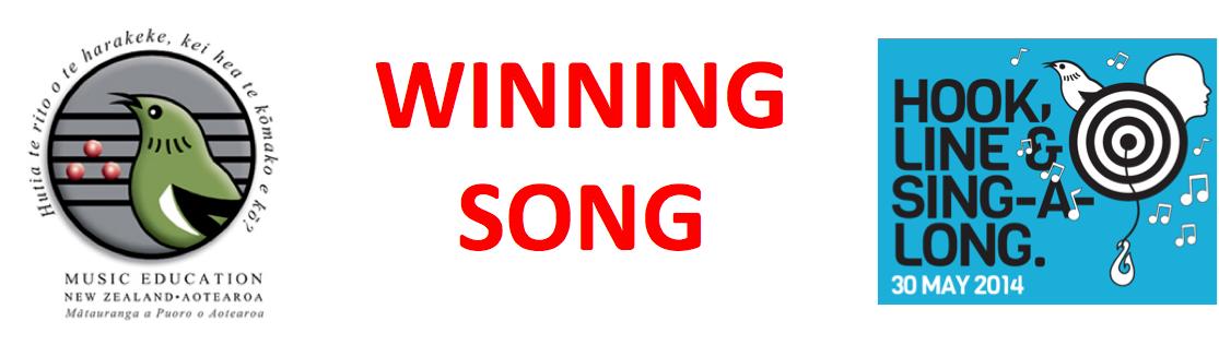winning song banner
