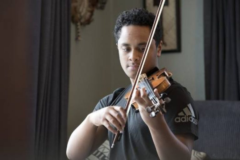 Rising star Toloa Faraimo, 15, earns internship with Orchestra Wellington
