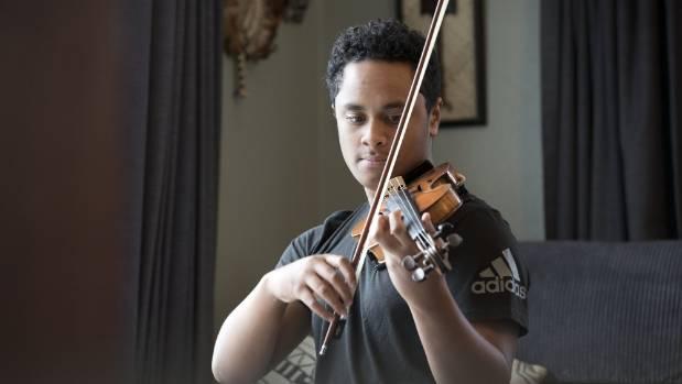 Rising star Toloa Faraimo, 15, earns internship with Orchestra Wellington