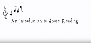 An Introduction to Score Reading