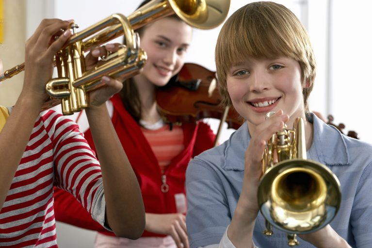Music Education can help children cope with stress