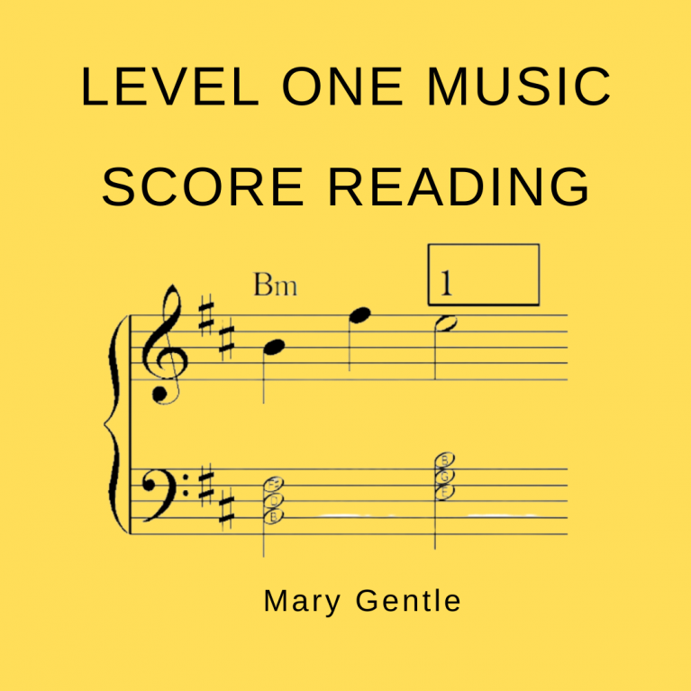 Level 1 music score reading slide shows (from Mary Gentle)