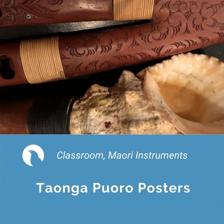 Taonga Puoro posters