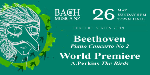Bach Musica NZ: Beethoven & Perkins (world premiere) | Menza