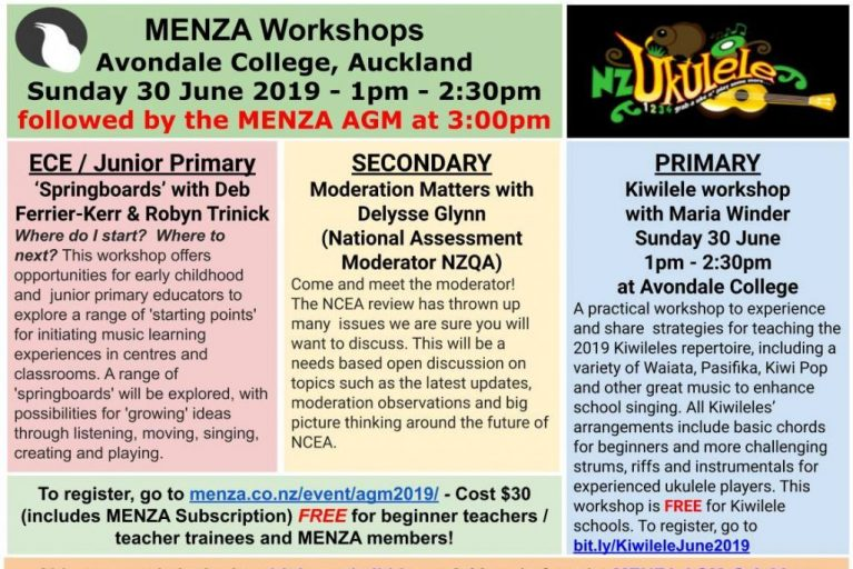 MENZA PLD Workshops & AGM
