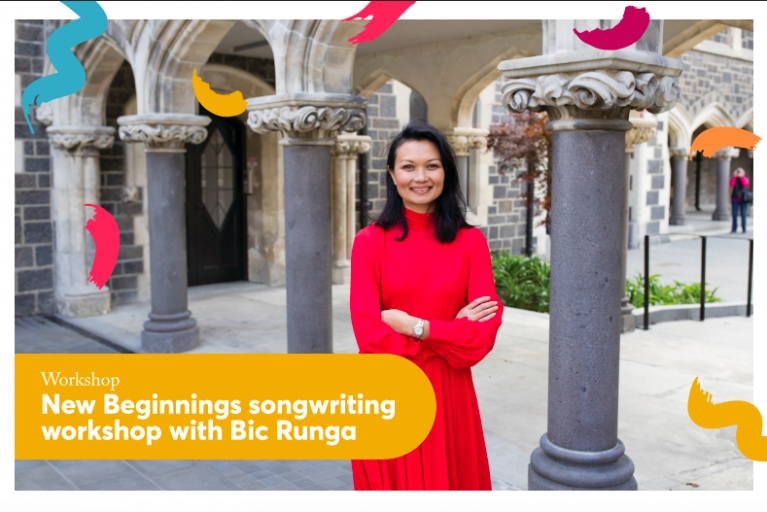 New Beginnings songwriting workshop with Bic Runga