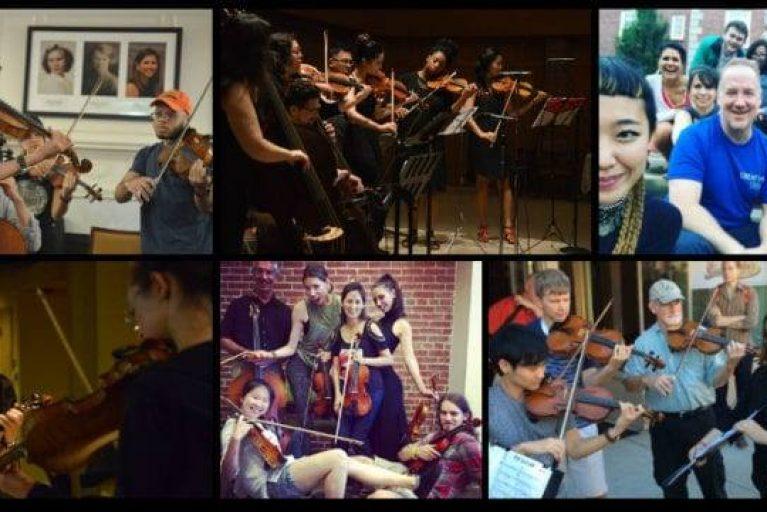 Creative Strings Workshop: Training in Contemp. Styles & Improv.