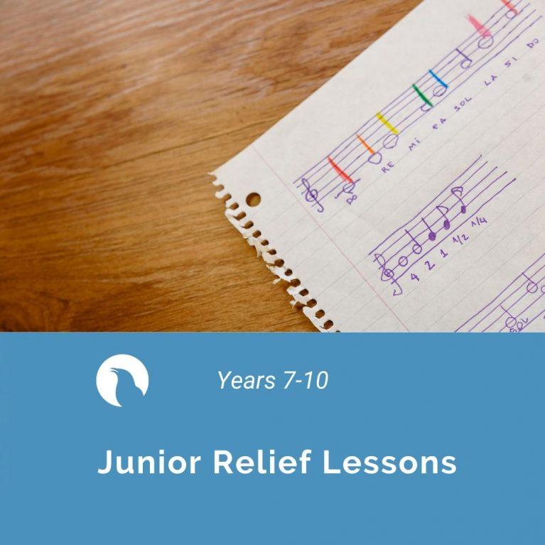 Junior Relief Lessons by Belinda Carey