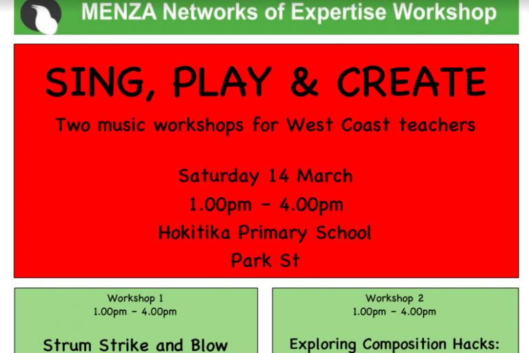 Hokitika – Sing, Play & Create