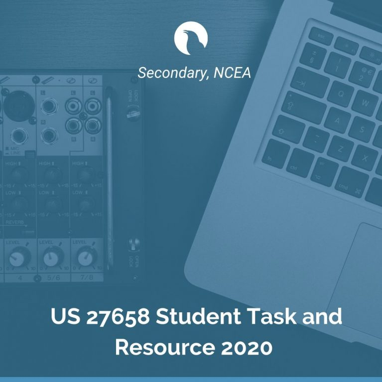 US 27658 Student Task and Resource 2020
