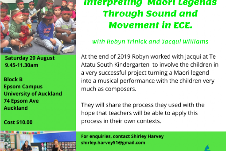 Interpreting Māori Legends Through Sound And Movement in ECE