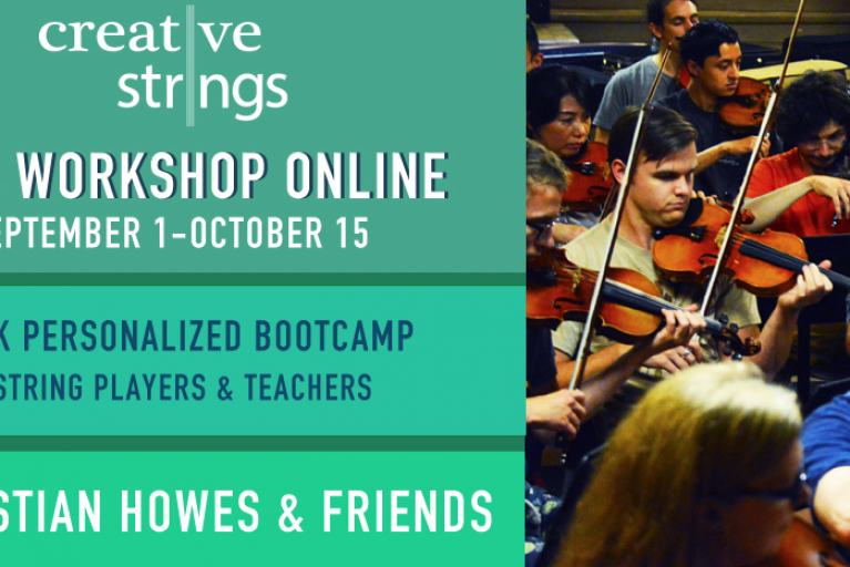 Creative Strings Workshop Online