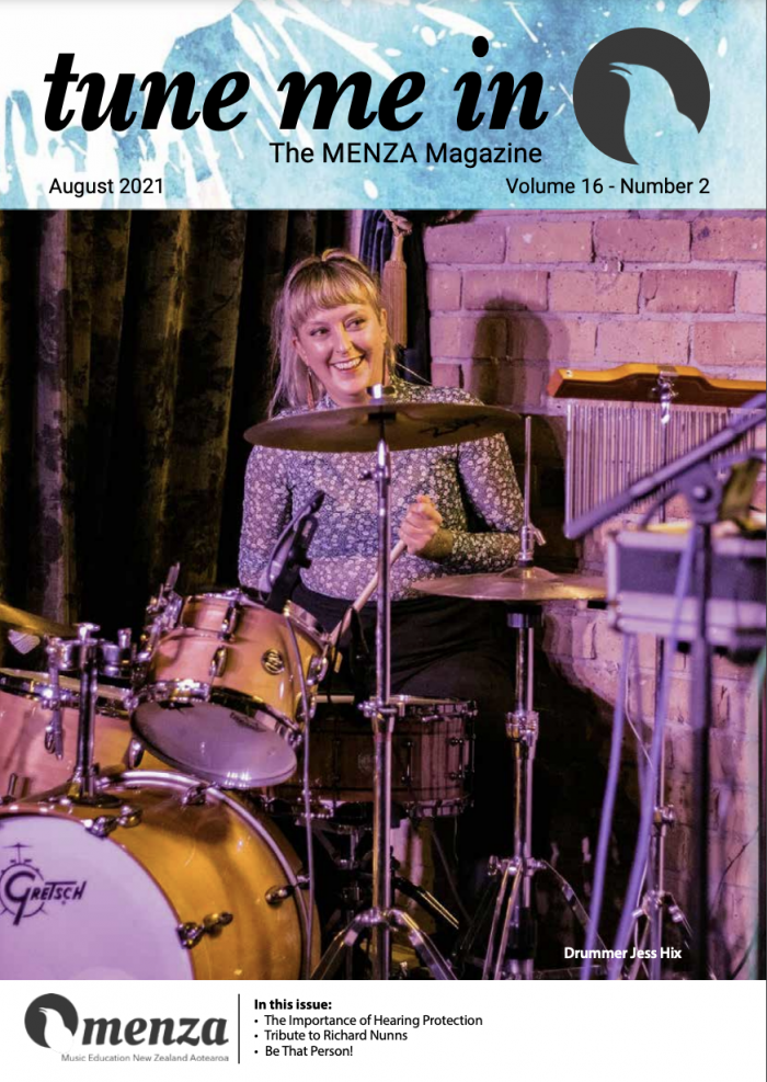 TUNE ME IN Volume 16 Number 2, August 2021